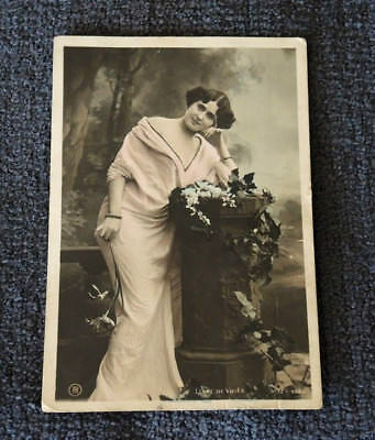 REAL PHOTO LIANE DE VRIES FRENCH ACTRESS OPERA SINGER c1910 #6