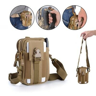Waterproof Waist Fanny Pack Metal Detecting Finds Pouch Shoulder Bag Camping Bag