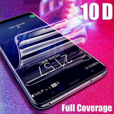 10D Soft Hydrogel Film Full Cover Back + Front Screen Protector For OnePlus 6T 6