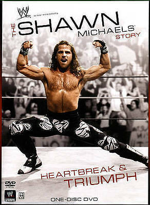 WWE - The Shawn Michaels Story: Heartbreak and Triumph (DVD, 2015) *Sealed*