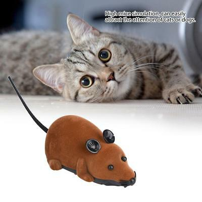 Funny Remote Control RC Wireless Rat Mouse Toy for Cat Dog Pet Novelty Gift