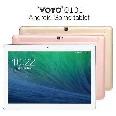 Dual 4G 10.1'' GPS WIFI BT Android 7.0 Octa Core 2G+32G Phablet Tablet PC Laptop