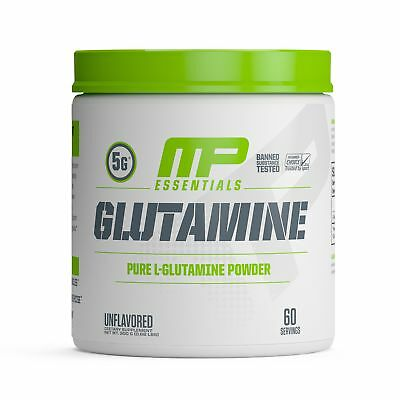 MP Essentials 100% Pure Glutamine Powder Muscle Growth and Recovery L-Glutami...