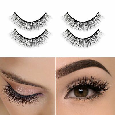 3D Mink Eyelashes Self-Adhesive Eyelashes No Glue Involved,Ikibity Fake Lashe...