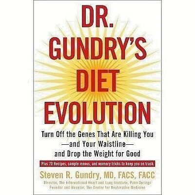 Dr. Gundry's Diet Evolution: Turn Off the Genes That Are Killing You (PDF_EB00K)