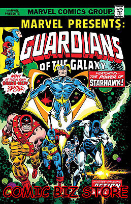 Marvel Presents #3 Guardians Of The Galaxy Facsimile Edition (2019) 1St Printing