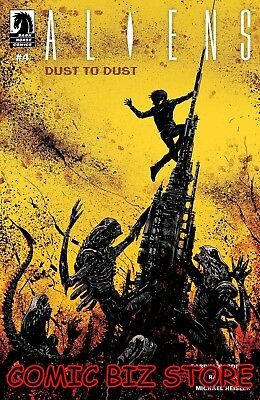 Aliens Dust To Dust #4 (Of 4) (2019) 1St Printing Main Cover Dark Horse