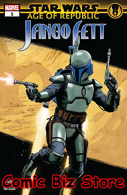 Star Wars Age Republic Jango Fett #1 1St Printing (2019) Rivera Main Cover