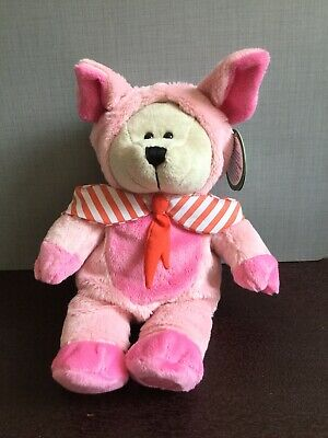NEW 2019 Starbucks Chinese New Year Bearista Bear - Year of Pig Pink -No Card
