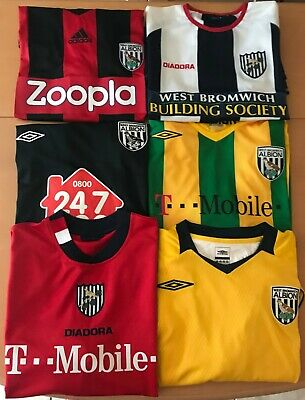 West Bromwich Albion Football Shirt, All Sizes, All Seasons, Great, Some New