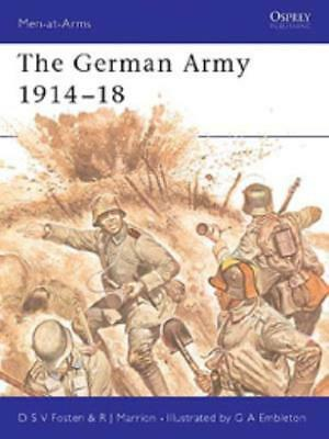 Osprey Men-at-Arms German Army 1914-18, The SC MINT