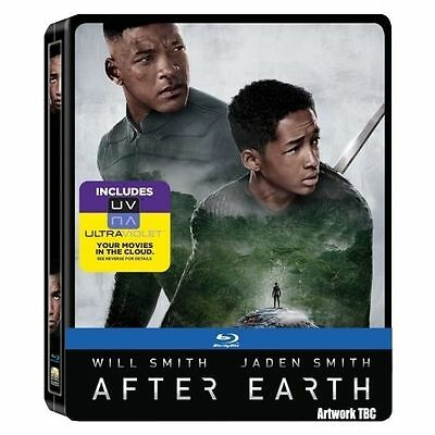 After Earth (Blu-ray, 2013, 2-Disc Set) - STEELBOOK Edition - + UV - Brand New