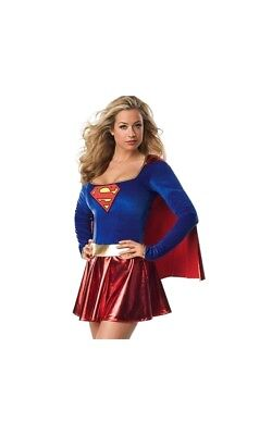 Supergirl Superwoman Superman Karnevalkostum Fasching