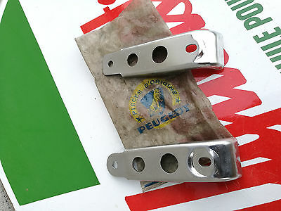 N.O.S paire de support moteur PEUGEOT RALLY SPR TSR BB3 SP3 TS3 mobylette