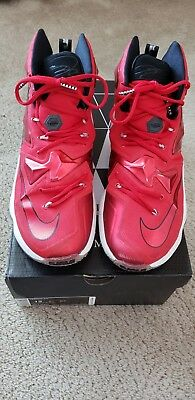 newest 685b5 36812 Lebron XIII 13 University Red Size 12. Never worn outdoors