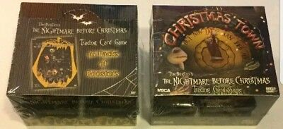 Nightmare Before Christmas Card Game & Christmas Town Expansion Booster Box