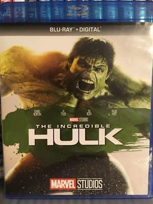 Incredible Hulk Blu-Ray No Digital Copy Like New Fast Free Combined Shipping