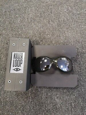 killer loop Sunglasses - paranoi - patch green gold flash - FREE P&P
