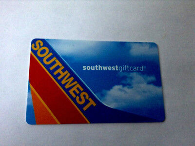 Southwest Gift Card  ---0--- VALUE RECHARGEABLE