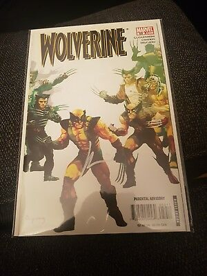 Wolverine 59 nm signed by howard chaykin