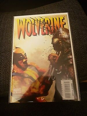 Wolverine 60 nm signed by howard chaykin