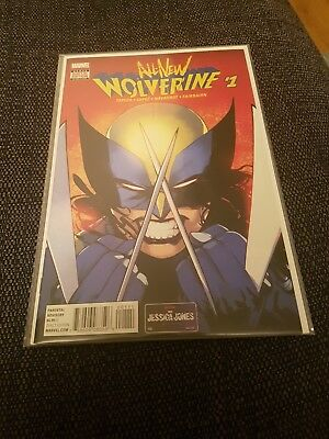 All new wolverine 1 nm uber hot 1st issue