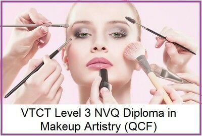 VTCT Level 3 NVQ Diploma in Makeup Artistry (QCF) Completed Assignments