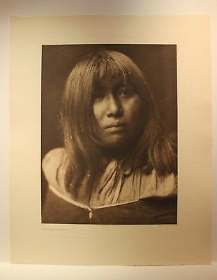 Havasupai Edward S Curtis - Large Photogravure Southwest