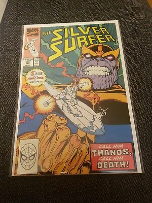 Silver surfer 34 nm return of thanos. Thanos quest begins