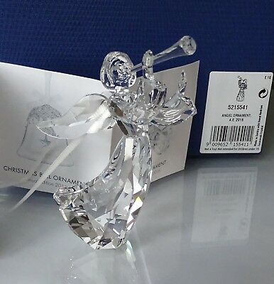 Swarovski Annual Edition 2016 Angel Ornament Crystal 5215541 NEW IN BOX COA MINT