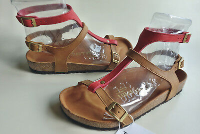 Details about new TATAMI BIRKENSTOCK Leather Sandals VARNA EXQ Rust Red US6.5 7 EU37(38) UK4.5