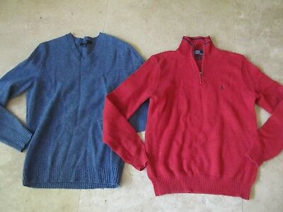 Lot, 2 mens size S,small sweaters, Polo Ralph Lauren, Express lambswool
