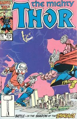 Thor (1st Series Journey Into Mystery) #372 1986 FN Stock Image