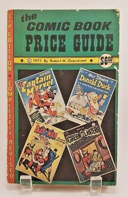 The Comic Book Price Guide Robert Overstreet 1973 Third 3rd Edition