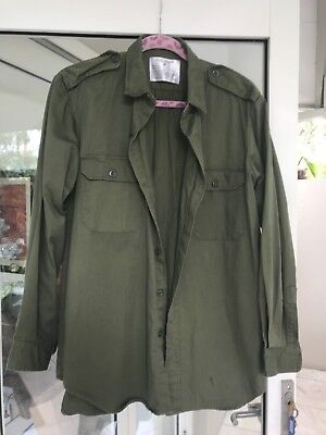 Australian Army Style Jungle Green Shirt