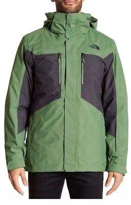 NWT The North Face Mens Jacket Clement Triclimate Green  Was $280