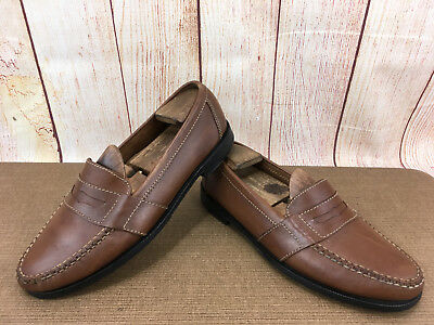 245e1fb1a82 Cole Haan Mens Shoes Douglas Penny Loafer Size 8.5 Saddle Brown 01462 P39(5)