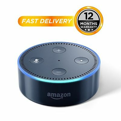 Amazon Echo Dot 2nd Generation Smart Assistant - Black