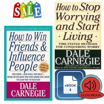 How To Win Your Friend & Influence People + Stop Worrying & Start Living eBooks
