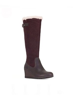 8d1bd66a6d3 MISCHA BOOTS BROWN Stout Leather Tall Boots -Us 8 B - $29.99 | PicClick