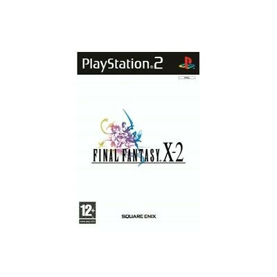 FINAL FANTASY X-2 for Playstation 2 PS2 used guaranteed italian 10-2 X II