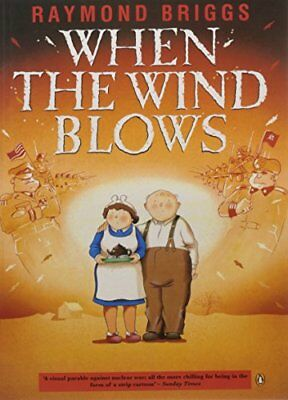 When the Wind Blows by Raymond Briggs, NEW Book, (Mass Market Paperback) FREE &