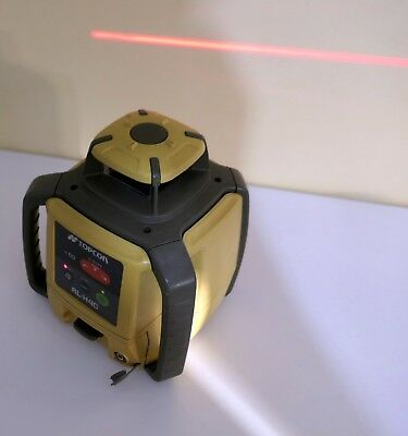 Topcon Rl-H4C Rotating Red Beam Self Leveling Laser Level Wiith Dry Cell Battery