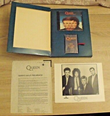 Queen The Miracle CD promo presentation box set