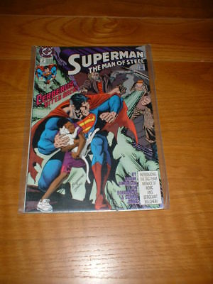 Superman The Man Of Steel 2. Nm Cond. Aug 1991.