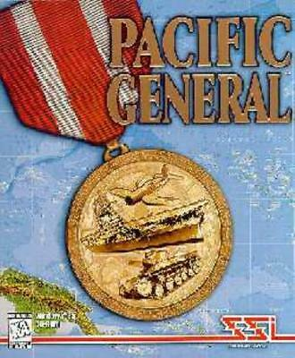 SSI Computer Wargame Pacific General Box VG