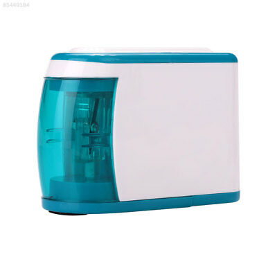 4CAB Automatic Electric Pencil Sharpener Battery Operated Two Holes Desktop