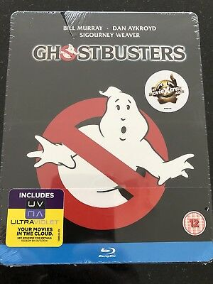Ghostbusters Steelbook****blu-Ray****region B****new & Sealed