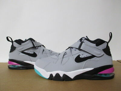 new style 7bb32 f02e3 Nike Air Force Max Cb Wolf Grey Black Fuchsia Barkley Sz 8-14