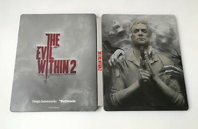 Box Only Caja Metal The Evil Within 2 Ii Steelcase Steelbook Ps4 Xbox One Pc
